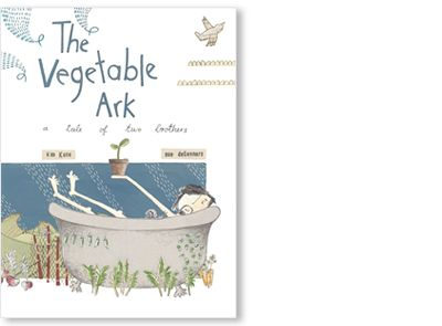 'The Vegetable Ark' written by Kim Kane and illustrated by Sue de Gennaro, published by Allen & Unwin, 2010.  This signed picture book is available at Books Illustrated. http://www.booksillustrated.com.au/bi_books_indiv.php?id=74&image_id=66