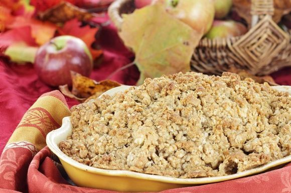 Maple Apple Crisp ...Maple Apple Crisp has an extra layer of sweetness thanks to the natural goodness of pure maple syrup, and the apple + maple combo is pure decadence