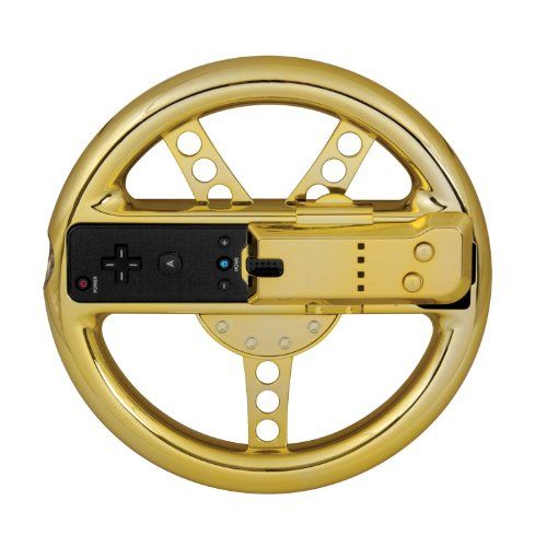 Dreamgear Nintendo Wii Motion Plus Wheel (Gold), 2015 Amazon Top Rated Controllers #VideoGames