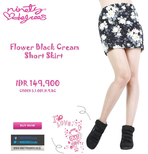 This flower skirt will looks cute with your shirt or tees Girls IDR 149,900 >> http://ow.ly/vCWyD