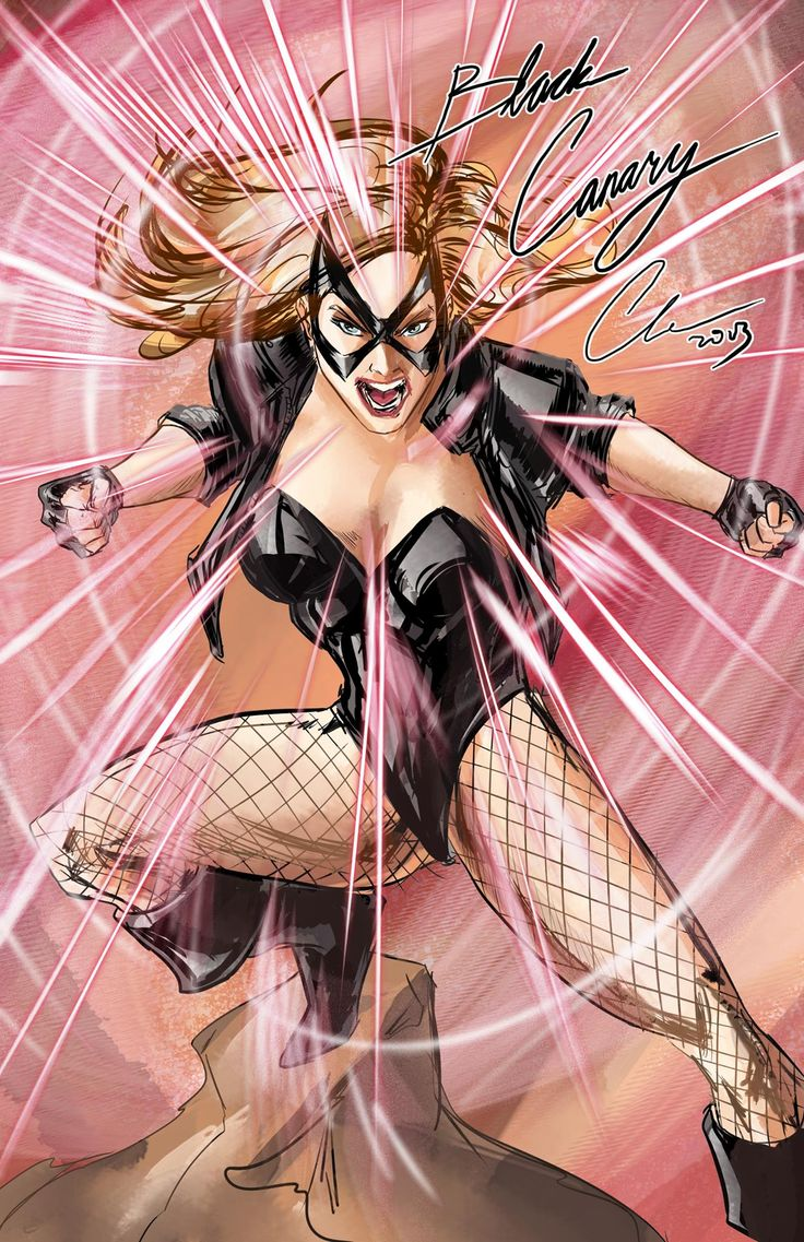 DCcomics: search results - black canary