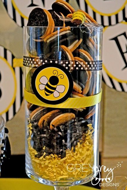 "Photo 1 of 17: Bumble Bee Baby Shower / Baby Shower/Sip & See ""Parents To Bee Baby Shower"" 