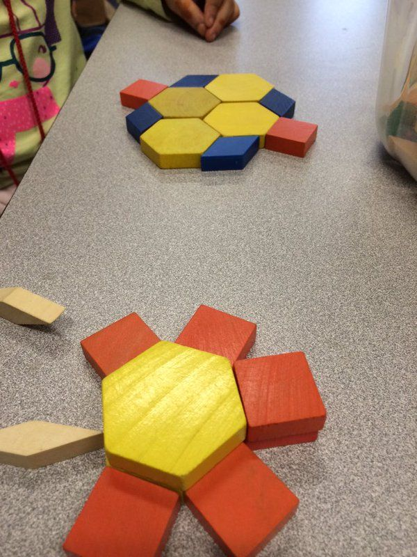 What can you create using only 10 pattern blocks?