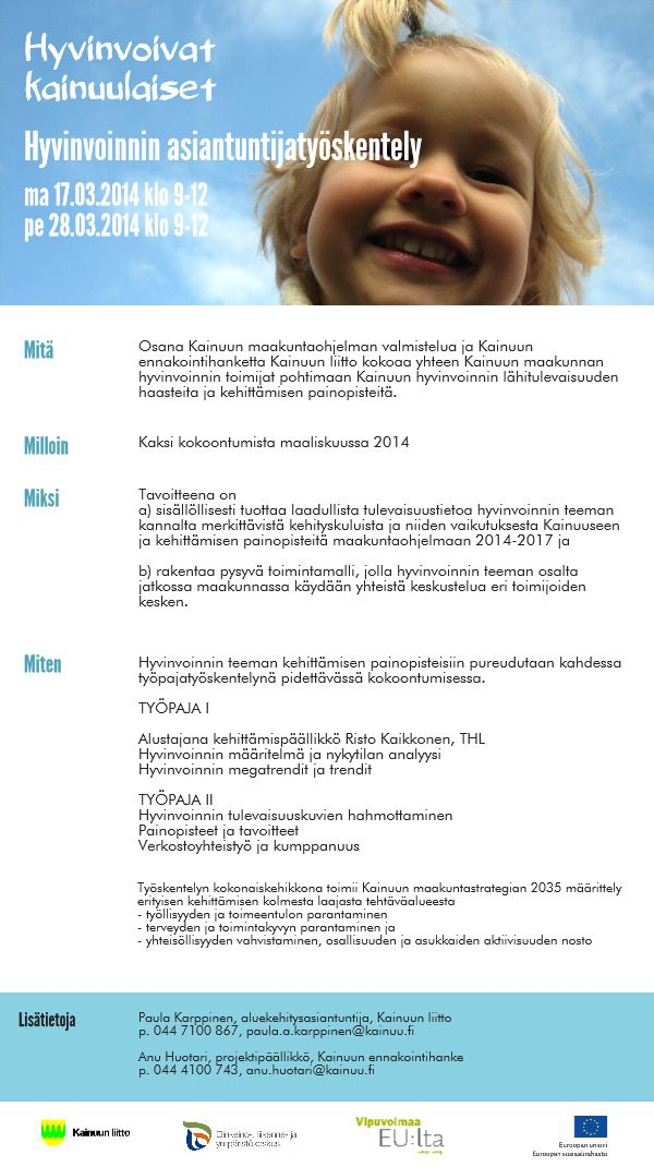 Hyvinvoinnin asiantuntijatyöskentely | @Piktochart Infographic