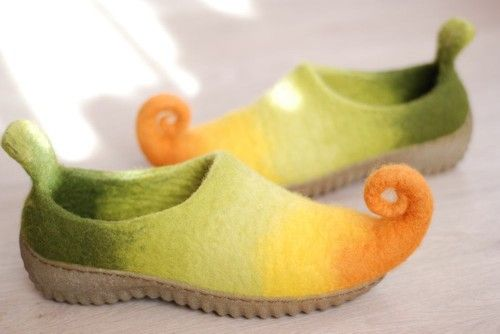 Rubber soles for outside wear, color beige
