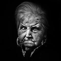 Ritratto senile by Gianluca Leucci @ http://adoroletuefoto.it