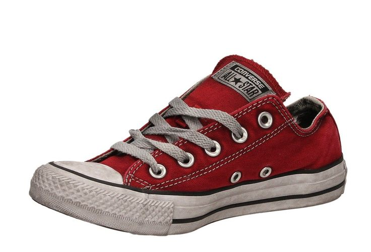 Sneaker converse All star 156891c canvas red smoke limited edition estiva unisex spring summer 2017