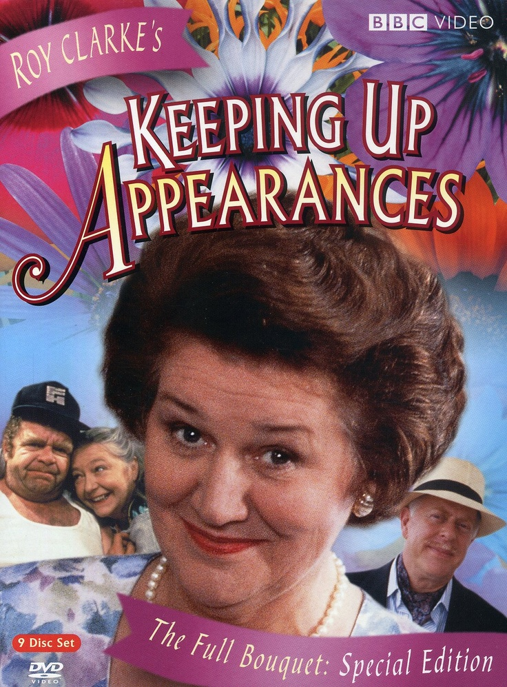 Keeping Up Appearances - BBC TV series - stars Patricia Routledge, Clive Swift…