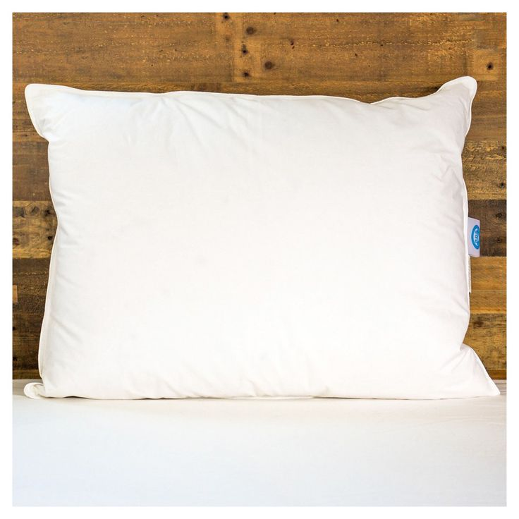 Responsible Down Standard White Duck Down Queen Pillow