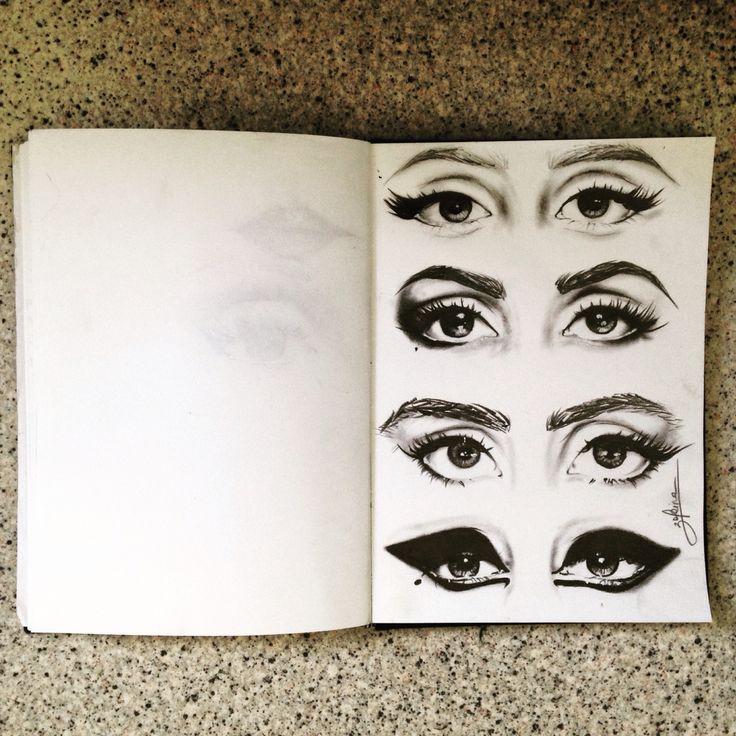 #art #illustration eyes Lady Gaga