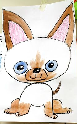 skippy jon jones...great idea for drawing cats!such a cute character