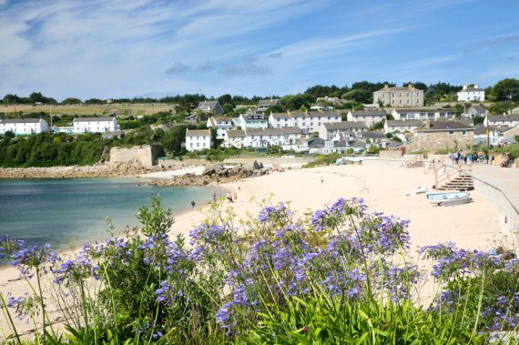 Porthcressa beach - St Mary's