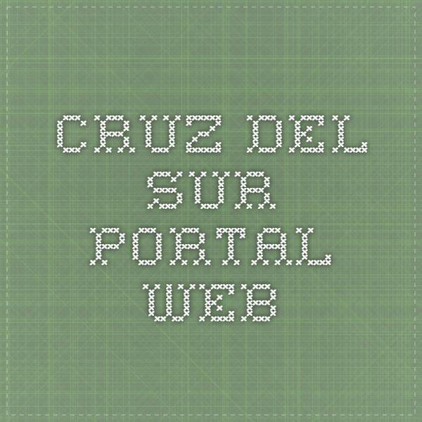 Cruz del Sur - Portal Web