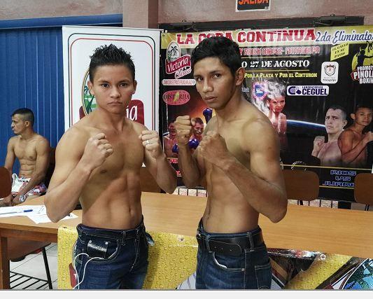Excampeón Byron Rojas animado para su combate con Ortiz
