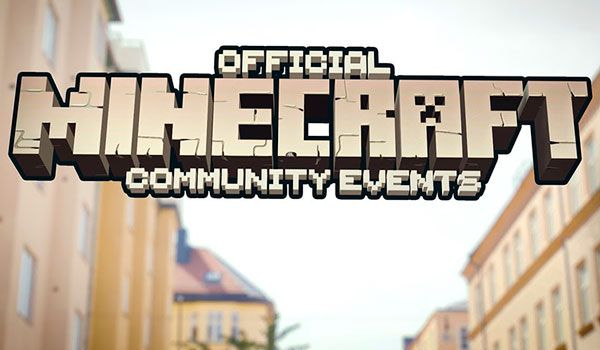 Llegan los Official Minecraft Community Events. Eventos locales de Minecraft