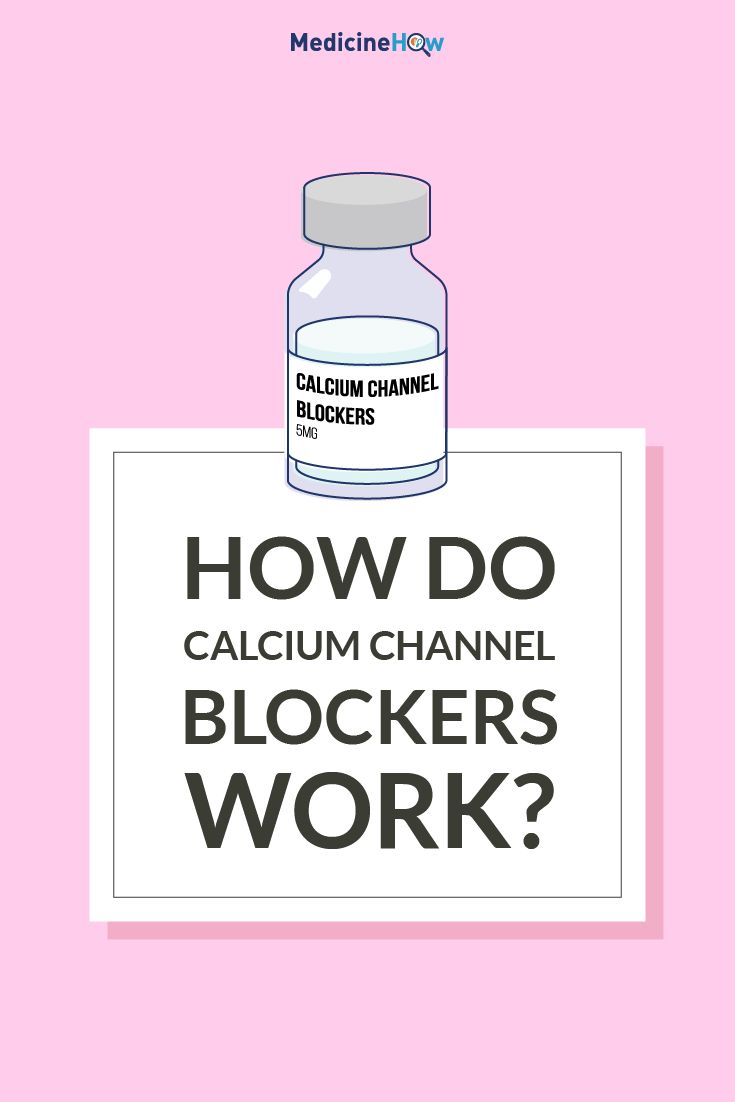 How do Calcium Channel Blockers Work?