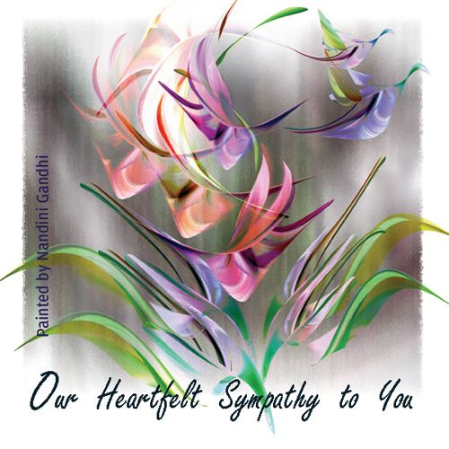 Words Of Sympathy New World: Deepest And Sincere Condolence! Free