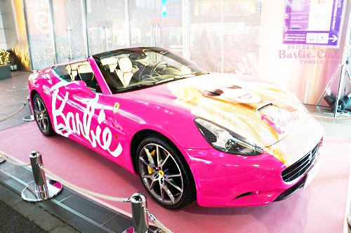 Barbie Ferrari Pink ☆ Girly Cars for Female Drivers! Love Pink Cars ♥ It's the dream car for every girl ALL THINGS PINK!