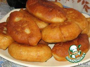 Пирожки на заварном дрожжевом тесте