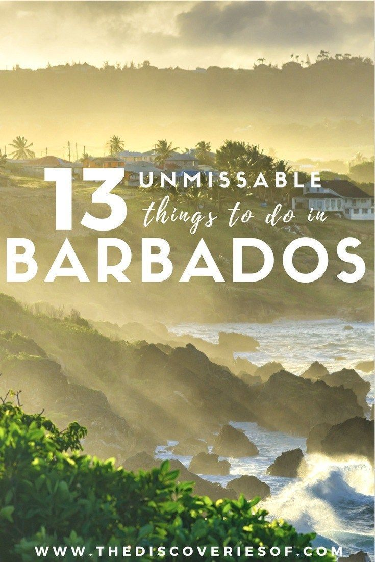 Barbados Get Ready For a Whirlwind Trip