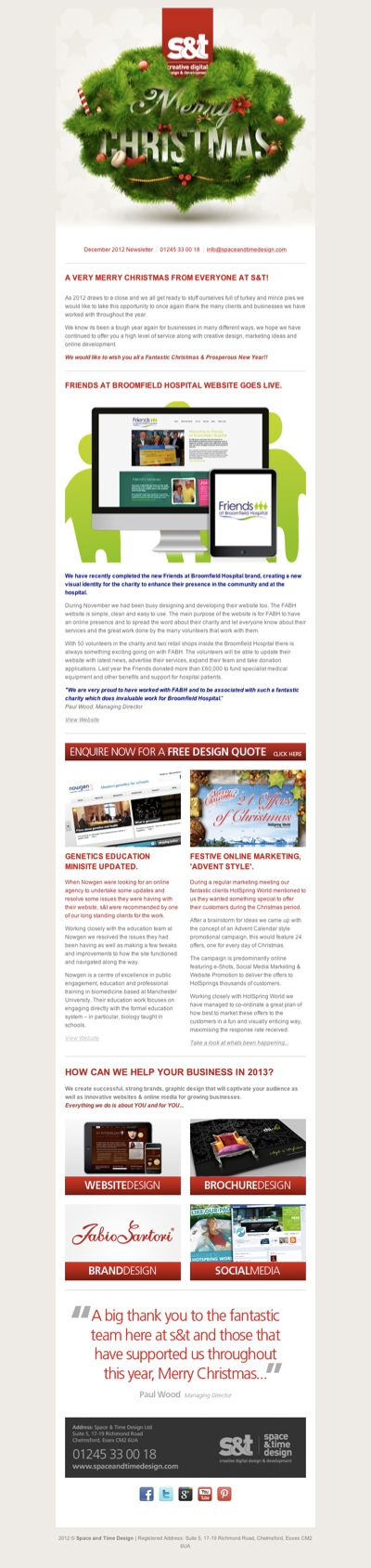 Best Holidays Newsletters Images On   Holiday Emails
