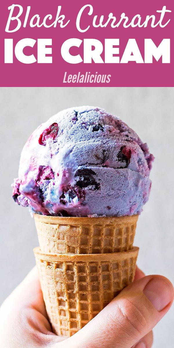 This refreshing Black Currant Ice Cream is a wonderful sweet-tart treat. It is made without refined sugar and can be made with fresh or frozen berries.