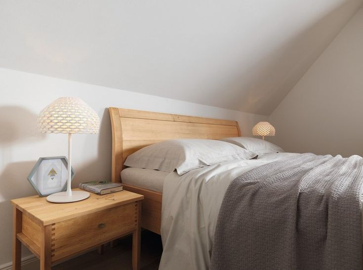 solid wood double bed sesam double bed by team 7