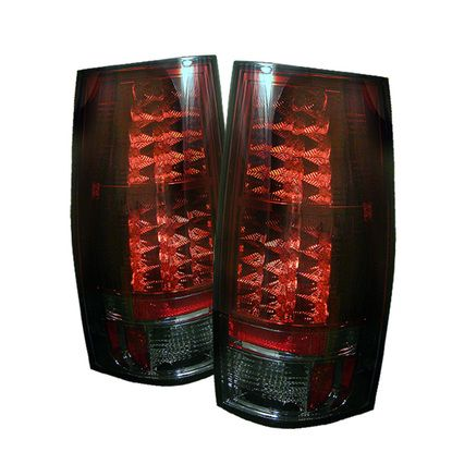 2007-2014 Chevy Suburban, Tahoe / 2007-2014 GMC Yukon, Yukon Denali LED Tail Lights - Red Smoke