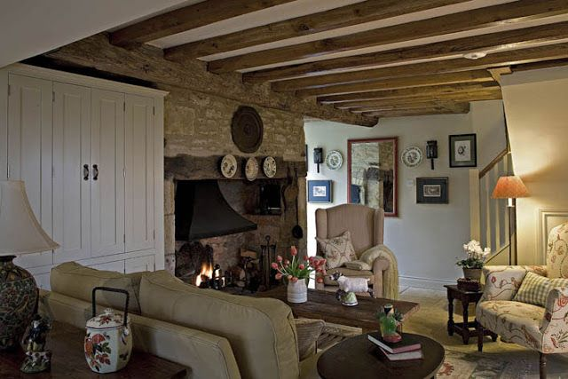 Modern Country Style: Cotswold Cottage House Tour Click through for details.