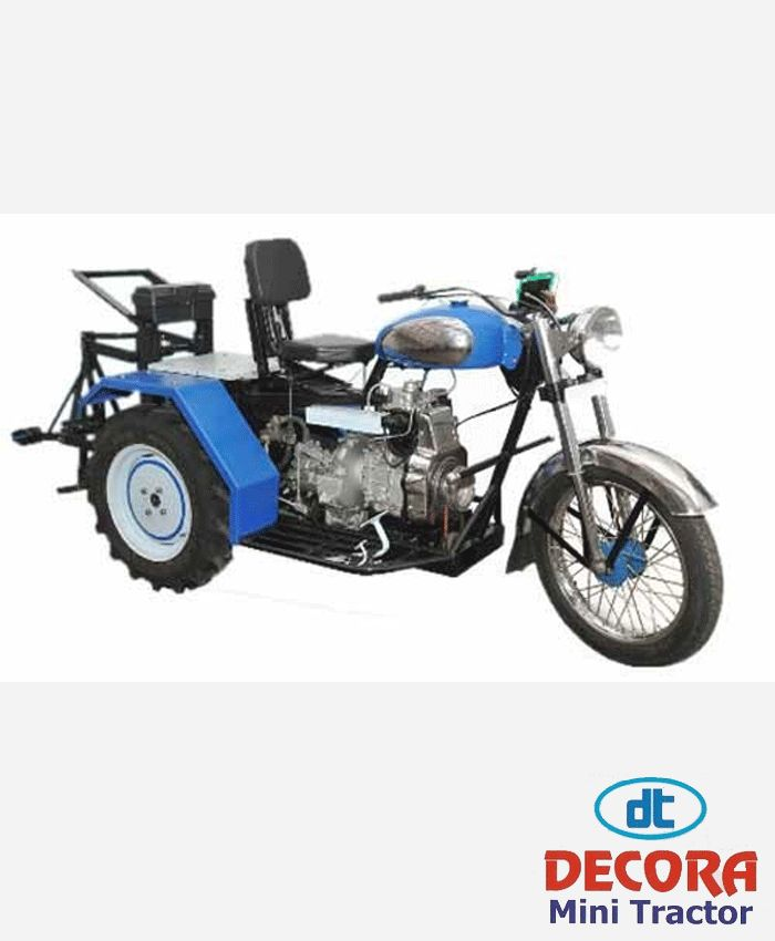 Decora Mini Tractor Three Weeler Diesel Engine in Rajkot