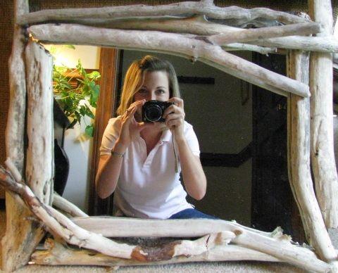 Simple Driftwood DIY Mirror: http://www.completely-coastal.com/2013/06/diy-frames.html