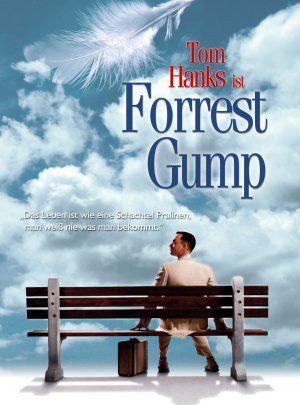 Forrest Gump es una película estadounidense cómico dramática estrenada en 1994. Basada en la novela homónima del escritor Winston Groom, la película fue dirigida por Robert Zemeckis y protagonizada por Tom Hanks, Robin Wright, Gary Sinise y Sally Field. La historia describe varias décadas de la vida de Forrest Gump, un nativo de Alabama que sufre de un leve retraso mental y motor.