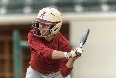 Alabama softball's Haylie McCleney named SEC Freshman of the Week