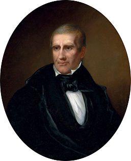 Portrait of President William Henry Harrison, 1841, by Bass Otis.