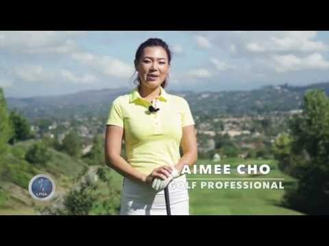 [Golf with Aimee] Aimee's Golf Lesson 010: Staying in Balance - YouTube