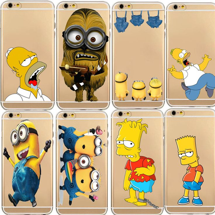 Vintage Coloful Me Yellow Minion Clear Back Case For iphone 5c 5s/6 6S Plus Soft TPU Cell Phone Accessories Digital Guru Shop