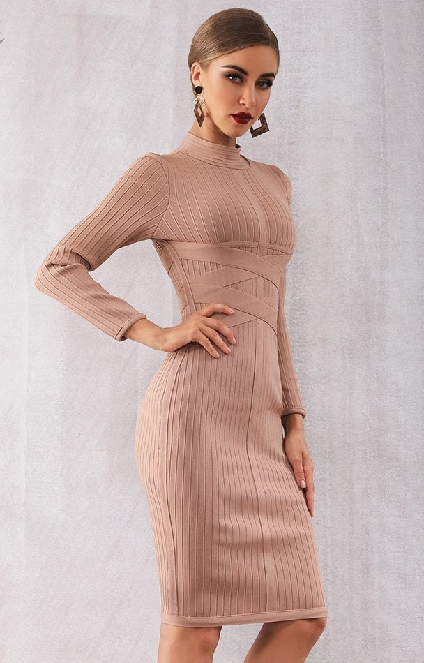 c8e7010102ff Long Sleeve Party Dress Bodycon Dress Beautiful and classic style with long  sleeve Would be perfect
