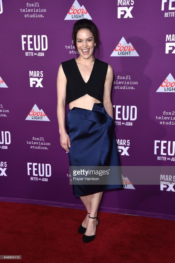 Actress Britt Lower attends FX Network's 'Feud: Bette and Joan' premiere at Grauman's Chinese Theatre on March 1, 2017 in Hollywood, California.