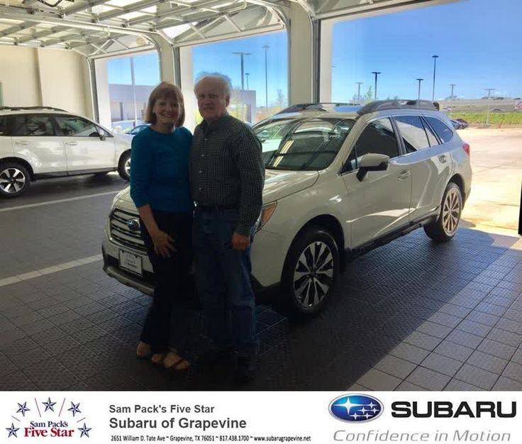 Congratulations Ron on your #Subaru #Outback from Dee Boyett at Five Star Subaru of Grapevine!  https://deliverymaxx.com/DealerReviews.aspx?DealerCode=M315  #FiveStarSubaruofGrapevine