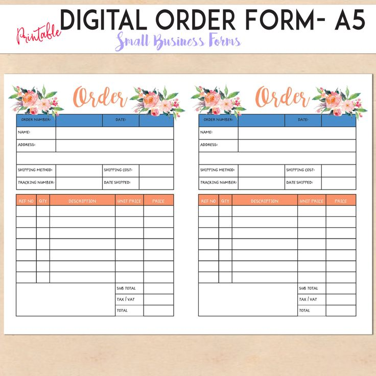 25+ Best Order Form Ideas On Pinterest | Photoshop Price