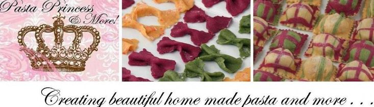 Homemade Pasta 3 Ways – Bow Ties – Orange Colored Pasta – Part III | Pasta Princess and More