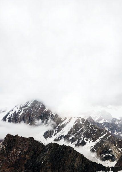 Tavlor och posters med fotokonst | Prints med foton på berg och natur