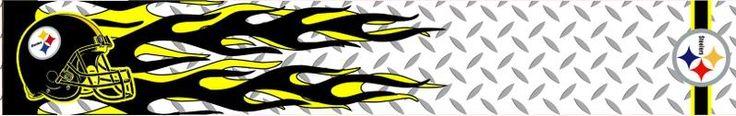 Steelers Helmet Banner