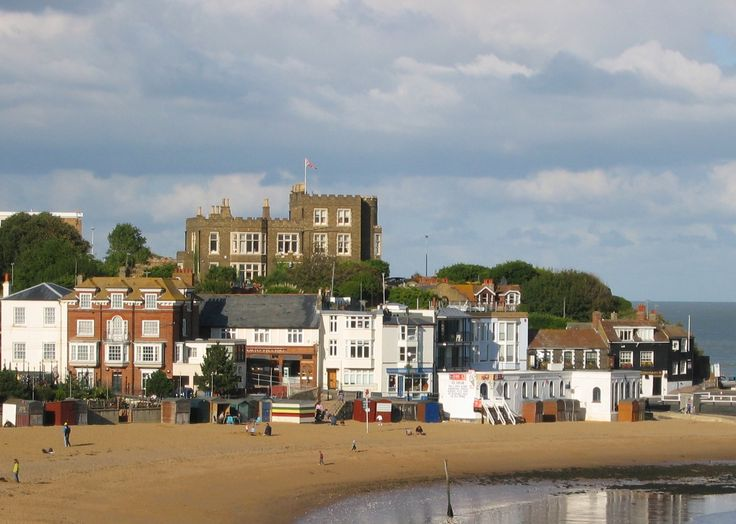 Charles Dickens -Broadstairs, Kent.  Spent many many summers here with Gran and Grandad