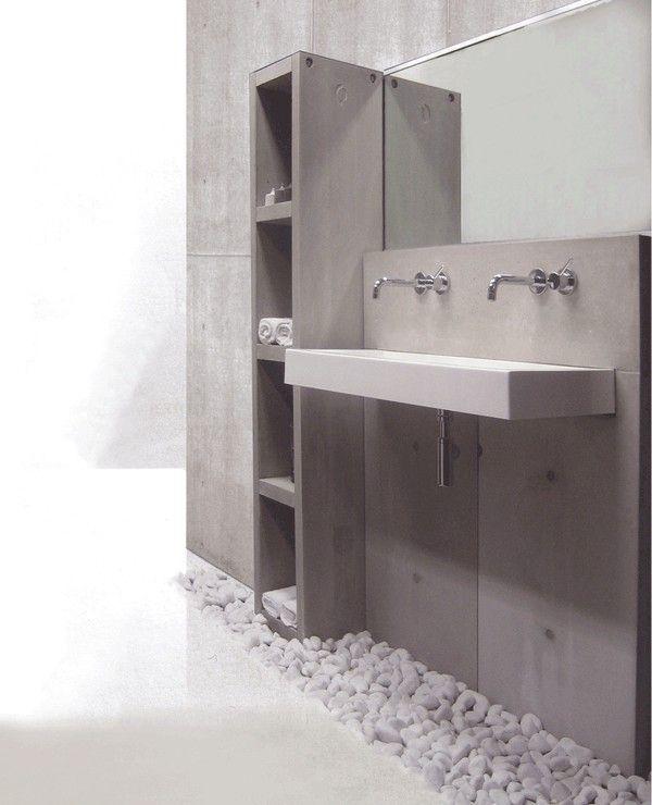165 beste afbeeldingen over badkamer op pinterest toiletten toverstokken en badkamer - Moderne wastafel ...