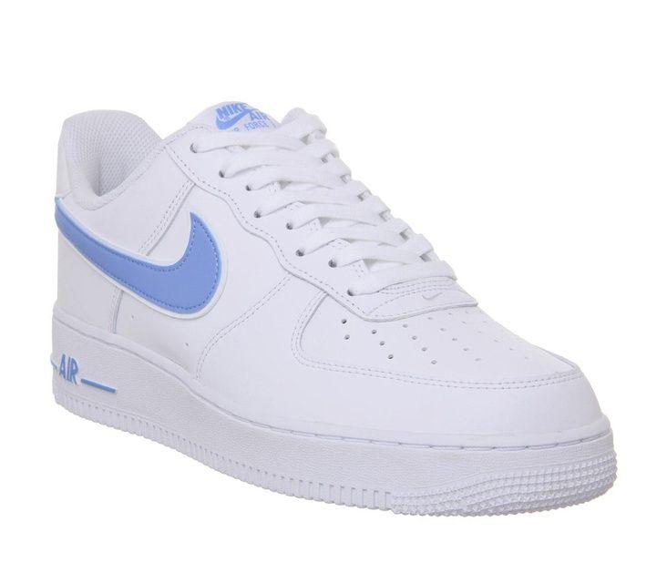 Nike Air Force 1 Blue X White/Hand