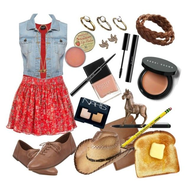 """""""Country Gurl"""" by akristaandkyleigh ❤ liked on Polyvore featuring Mulberry, Jack Wills, Bardot, Lucky Brand, Pieces, Rosebud Perfume Co., Warehouse, shu uemura, Bobbi Brown Cosmetics and Butter London"""