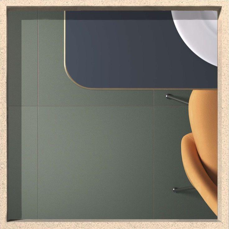 Vogue Graph: Green Textures. Discover all of 30 colors on our website and start to design with graph! www.ceramicavogue.com  #ceramica #ceramics #tiles #ceramicsofitaly #tileometry #plitka #tegels #carrielage #texture #grid #designinspiration  #design #tile #keramik #graph #millimetre #interiordesign #architecture #wall #porcelain #restaurant #piastrelle #interiordecor #colors #grid #gridlines #architectureporn  #archiproducts #archilovers #ceramicavogue