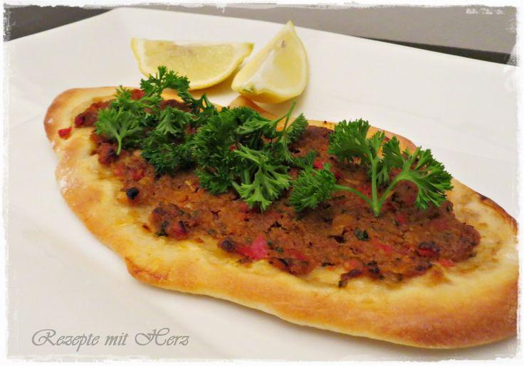 Thermomix - Rezepte mit Herz : Türkische Pizza - Lahmacun