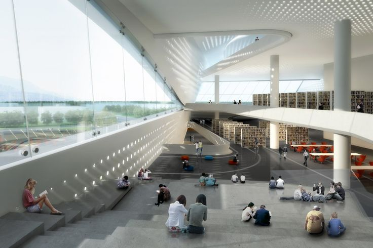 Dalian Library / 10 Design interior